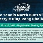 Virtual Freestyle Ping Pong Challenge