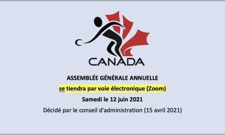 L'AGA 2021 par voie électronique