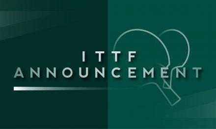 Révision de la qualification pour les Championnats du monde de tennis de table 2021 à Houston