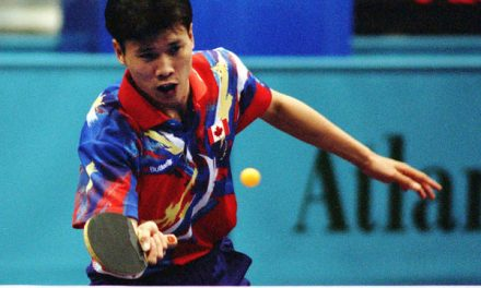 Throwback Thursday – Olympian Johnny Huang