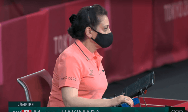 Journey of an Olympic Official – Marzieh Hakimara at the Tokyo Olympic Games