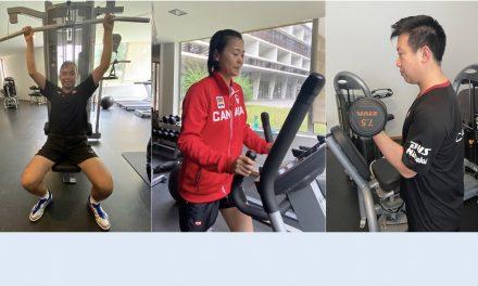 OLYMPICS – PHYSICAL PREPARATION
