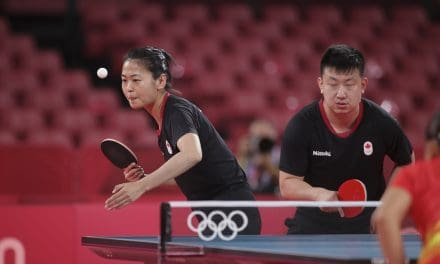 More images from the Tokyo Olympic Games and our Team Canada Table Tennis athletes