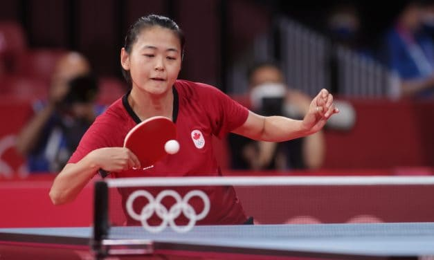 Top 16 for Mo Zhang at the Tokyo Olympic Games