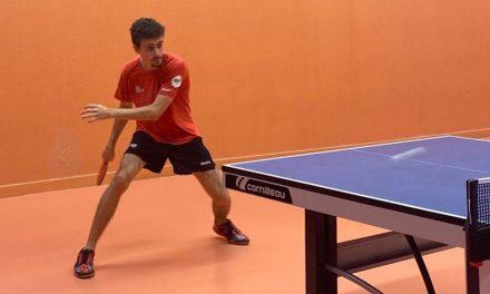 Matteo Martin partage son expérience de tennis de table en France