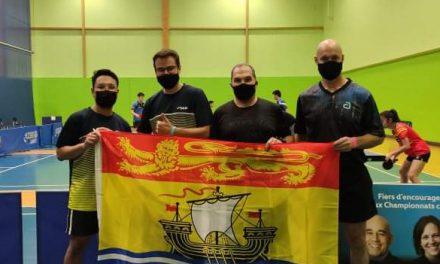 New Brunswick at the Canadian Championships
